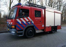 Brand in spouwmuur zorgt voor vertraging Hogeveenseweg Benthuizen